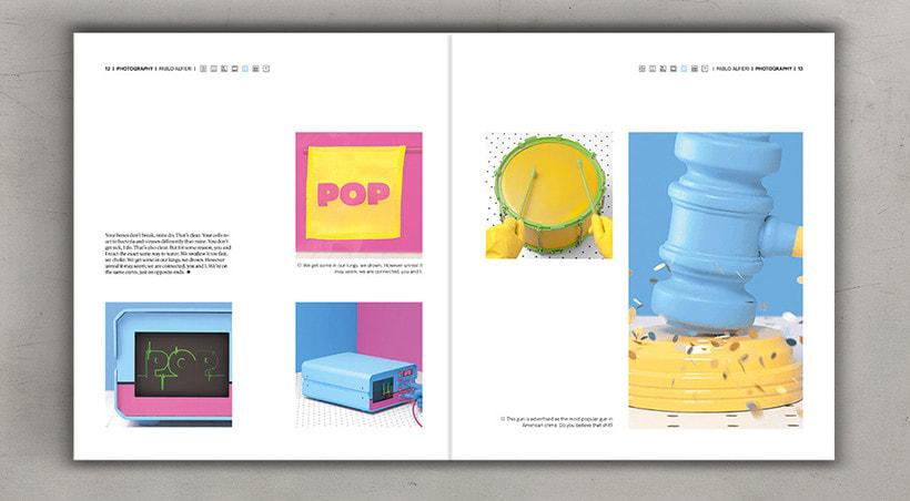 Diseño editorial cremoso 8
