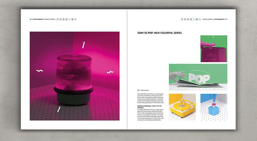 Diseño editorial cremoso 7