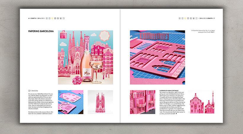 Diseño editorial cremoso 5