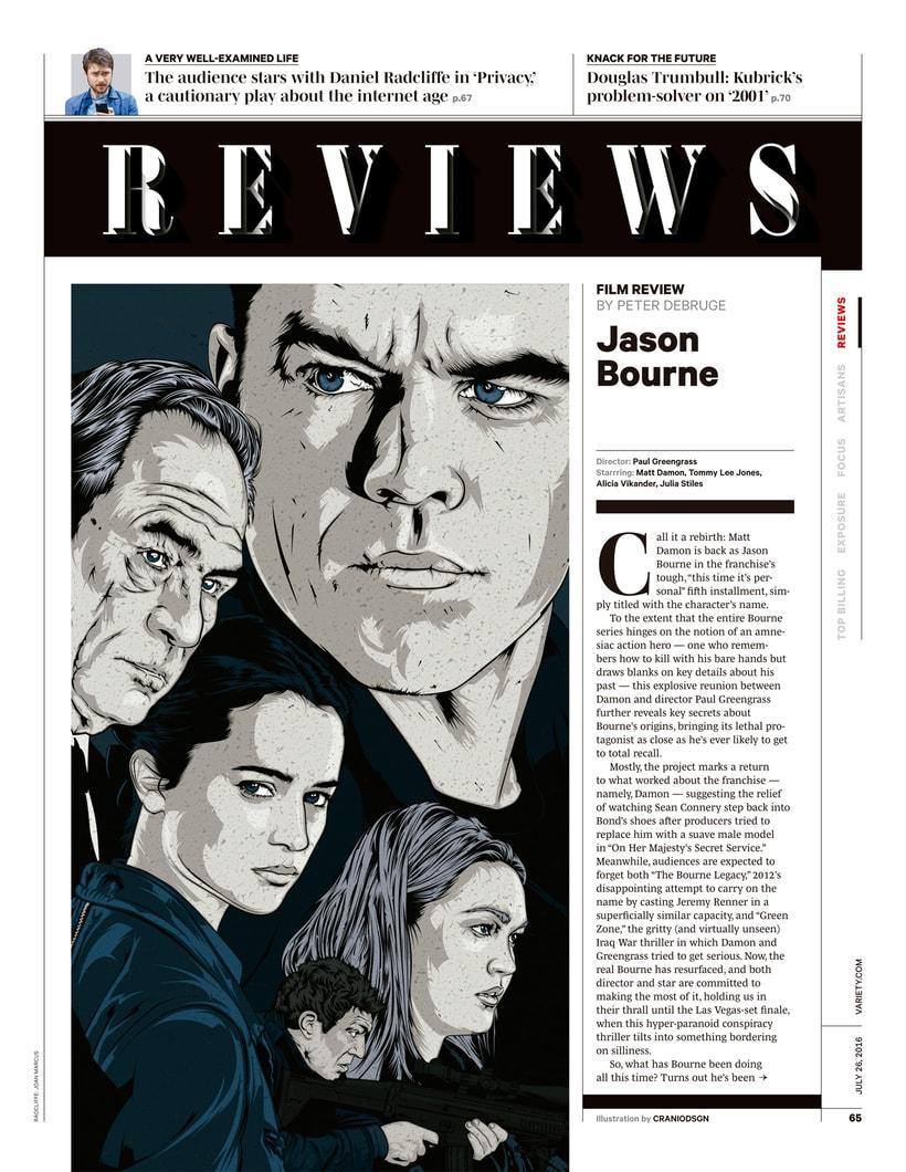 Variety | Jason Bourne 2