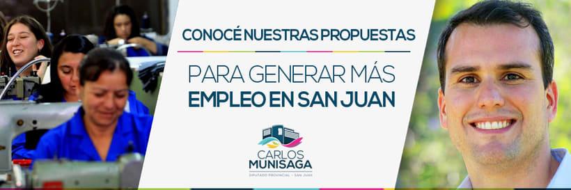 Carlos Munisaga - Diputado Provincial 6