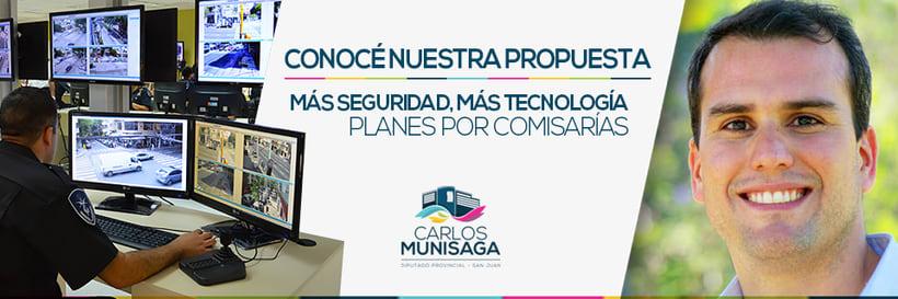 Carlos Munisaga - Diputado Provincial 8