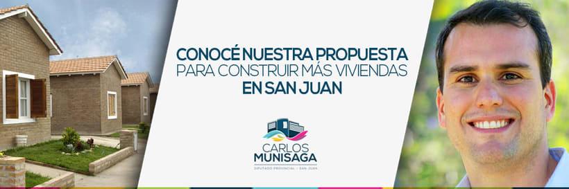 Carlos Munisaga - Diputado Provincial 9