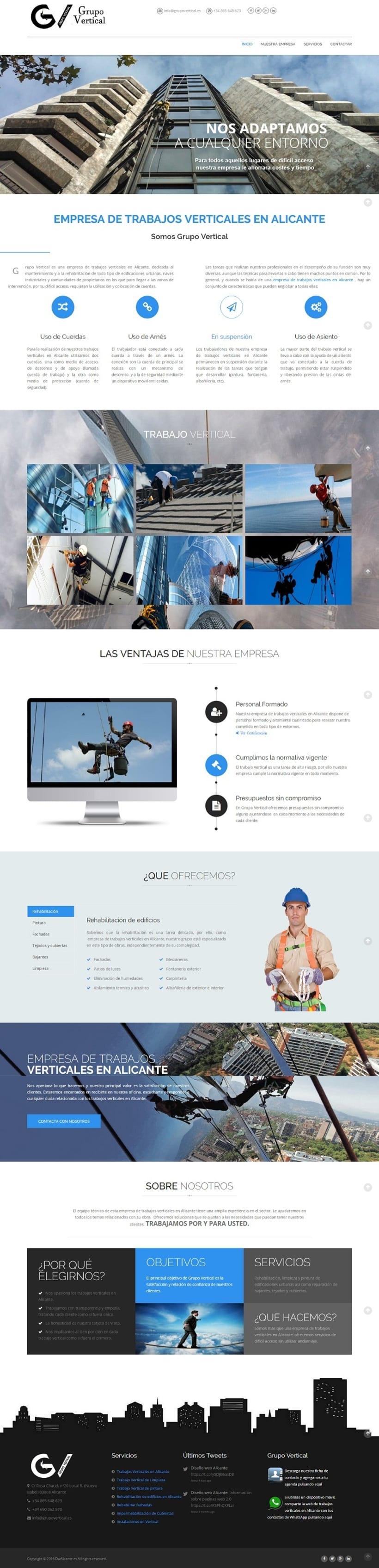 Proyecto web de trabajos verticales 0