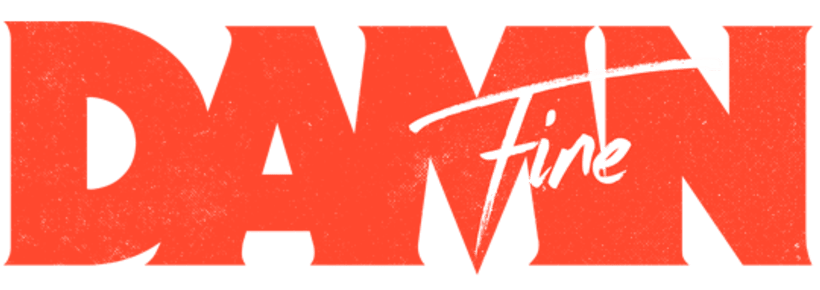 Damn Fine - Identidad y logo 0