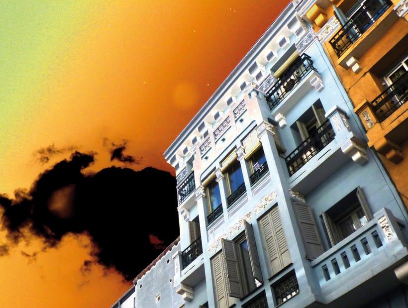 Fotografía artística: Serie Cielos de Madrid 1