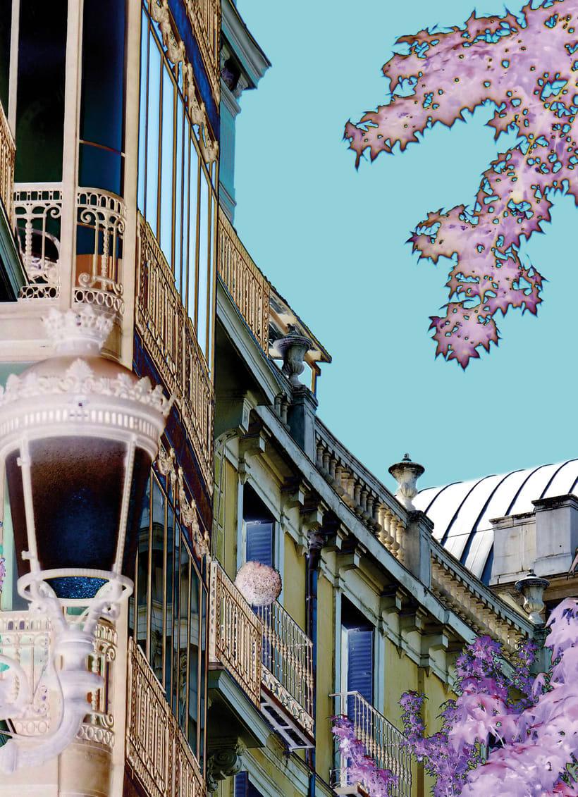 Fotografía artística: Serie Cielos de Madrid 4