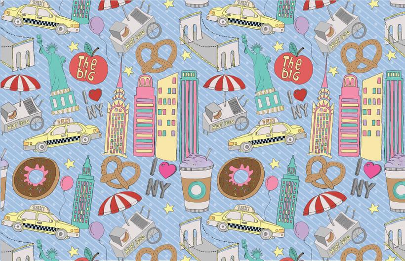 Pattern Design | NY NY! 1