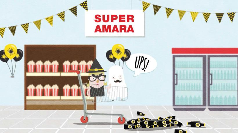 Ilustración videos promocionales Super Amara 4