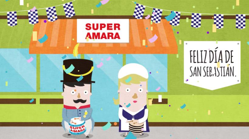 Ilustración videos promocionales Super Amara 6