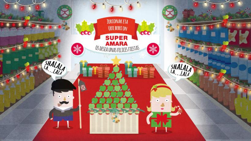 Ilustración videos promocionales Super Amara 8