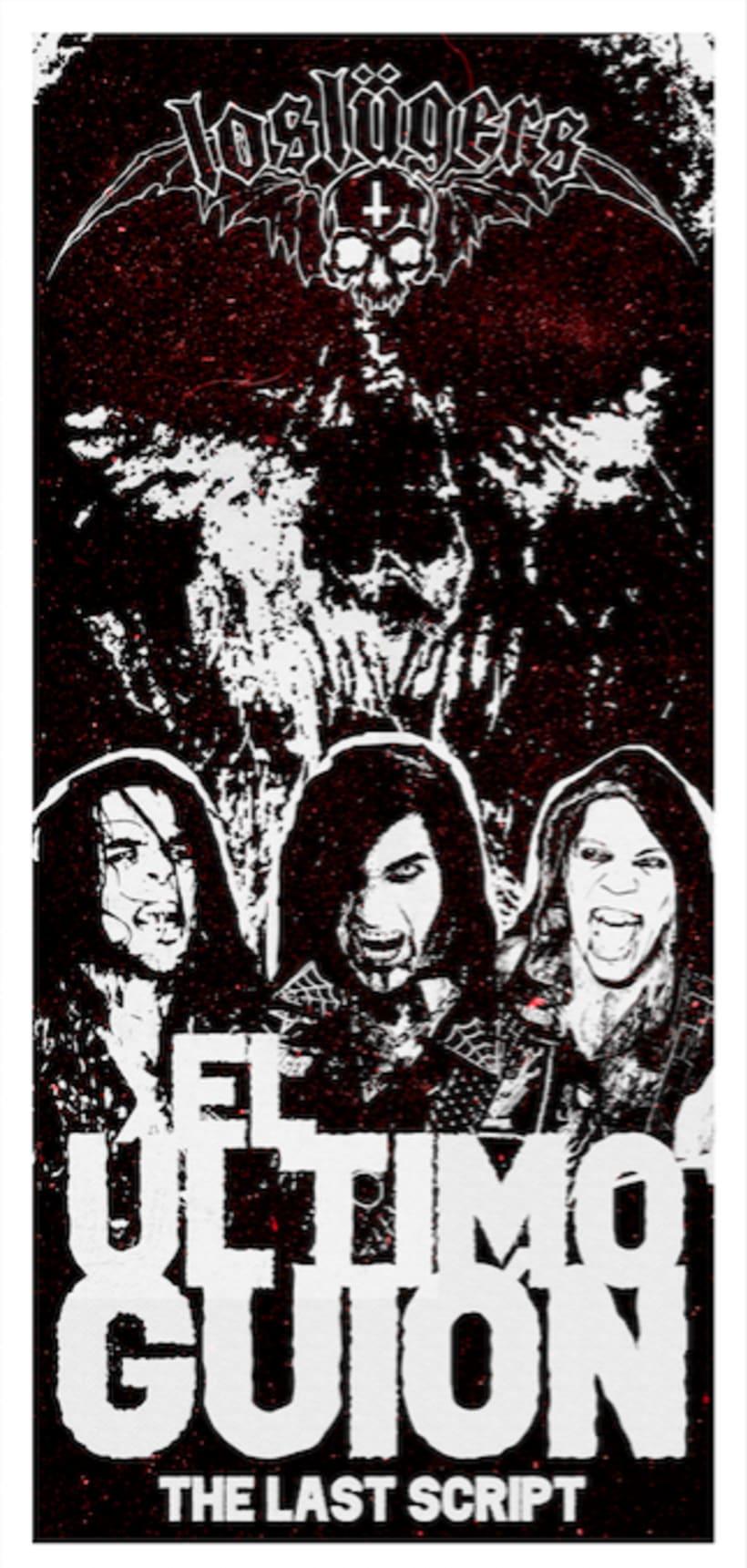 """Los Lügers - """"El ultimo guión"""" - Promo poster 1"""