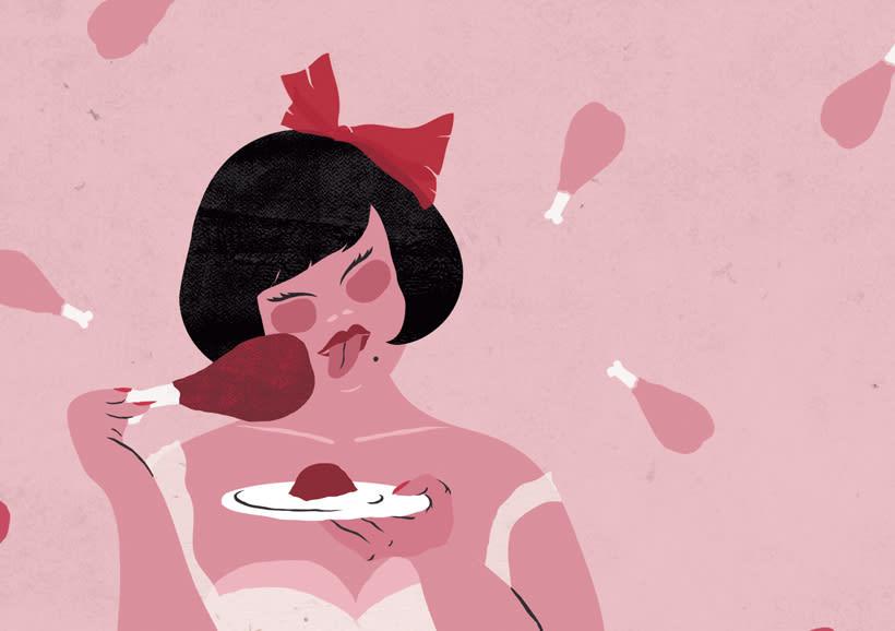 Ilustraciones para Lahar Magazine, Italia. 0