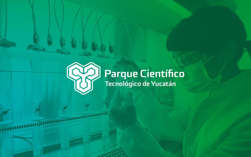 Identidad Parque Científico y tecnológico de Yucatán. 0