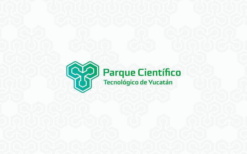 Identidad Parque Científico y tecnológico de Yucatán. 4