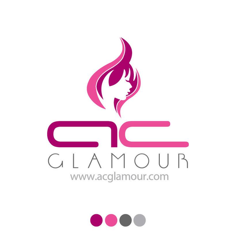 Logo identidad AC Glamour 0