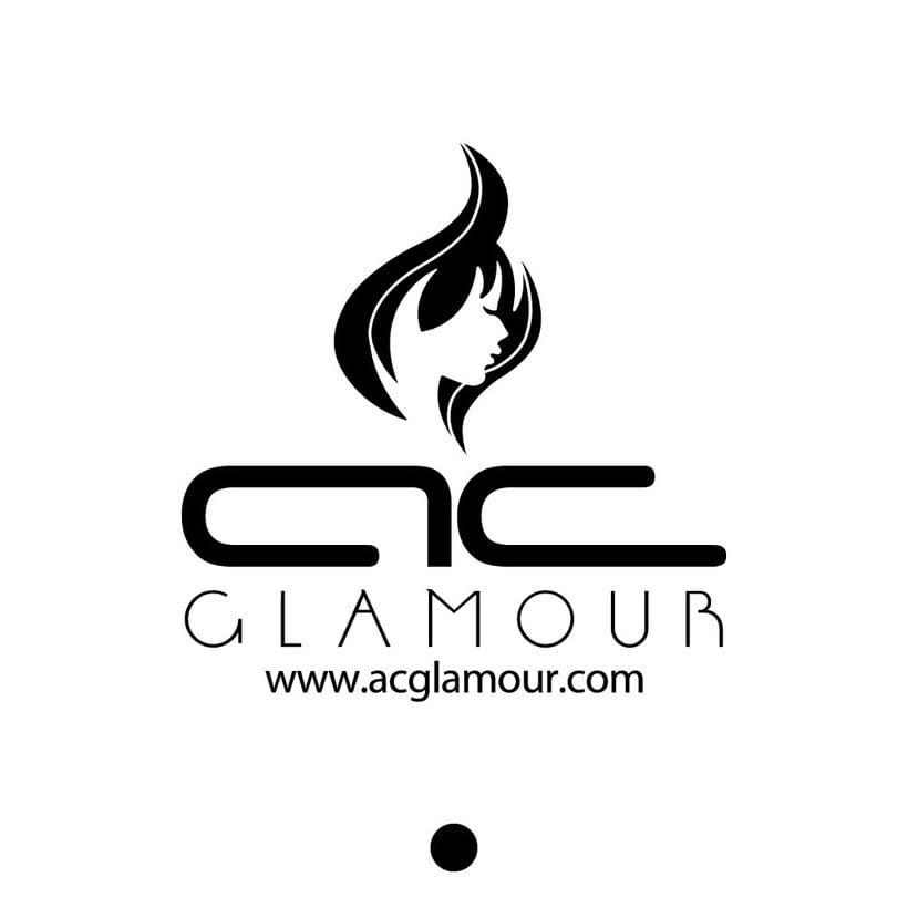 Logo identidad AC Glamour 1