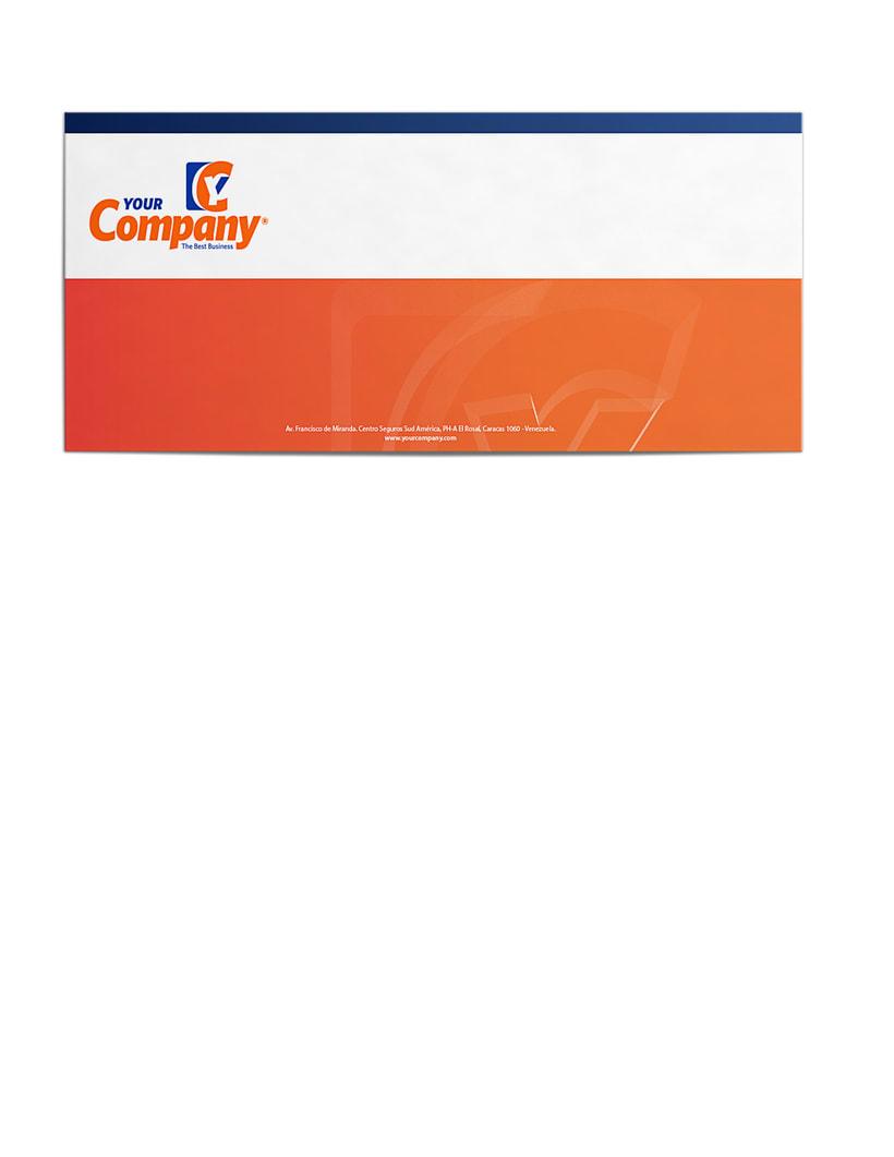 Manual de Identidad - Your Company - Marca para Banca Empresarial 10