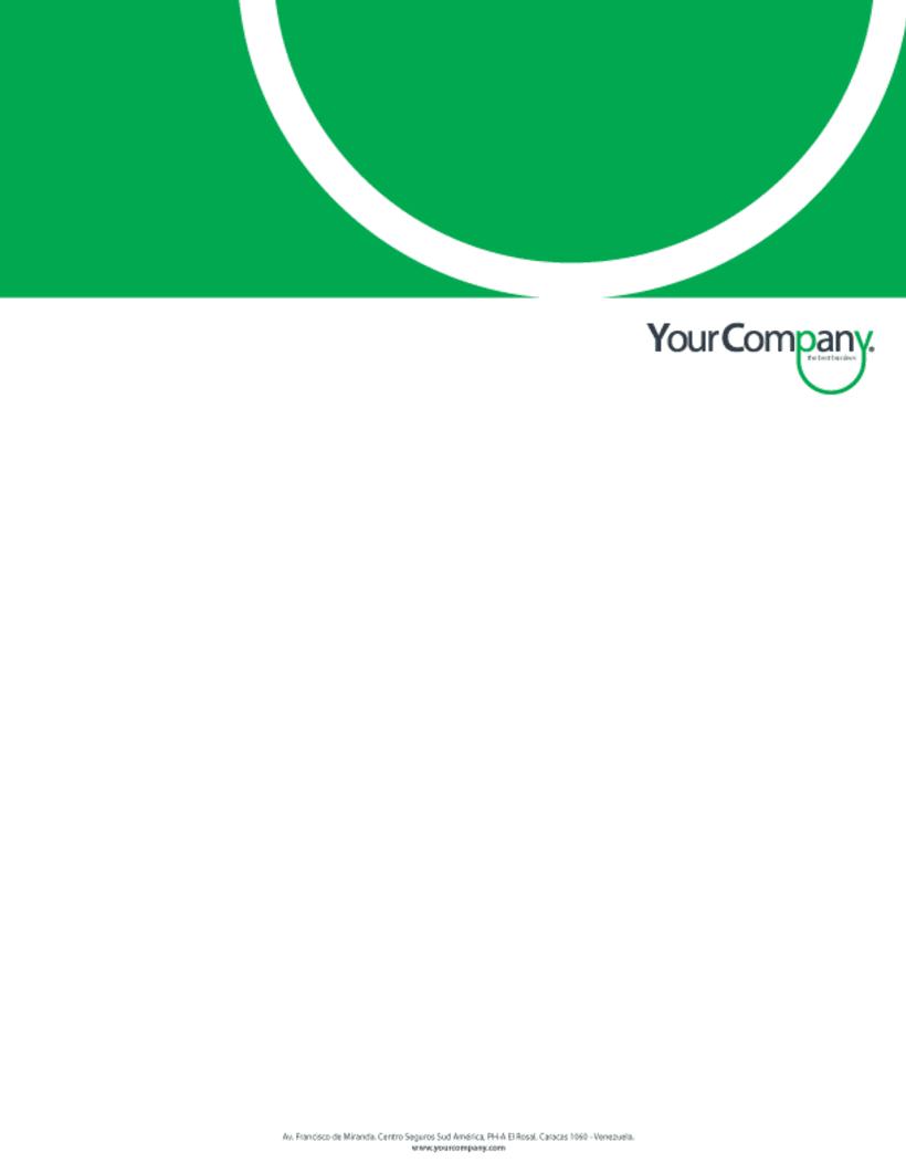 Manual de Identidad - Your Company - Marca para Banca Empresarial 3