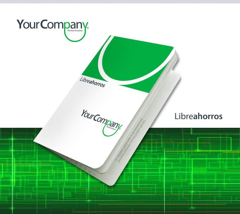 Manual de Identidad - Your Company - Marca para Banca Empresarial 11