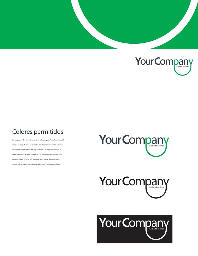 Manual de Identidad - Your Company - Marca para Banca Empresarial 18