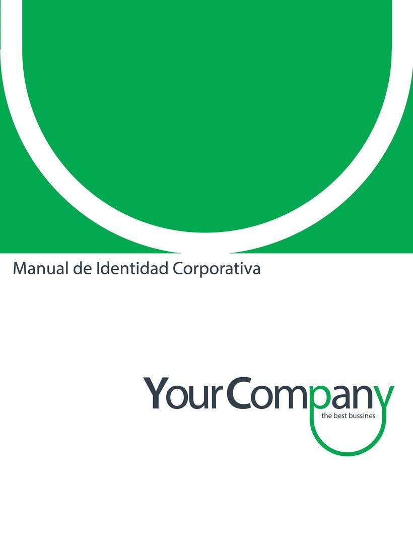 Manual de Identidad - Your Company - Marca para Banca Empresarial 21