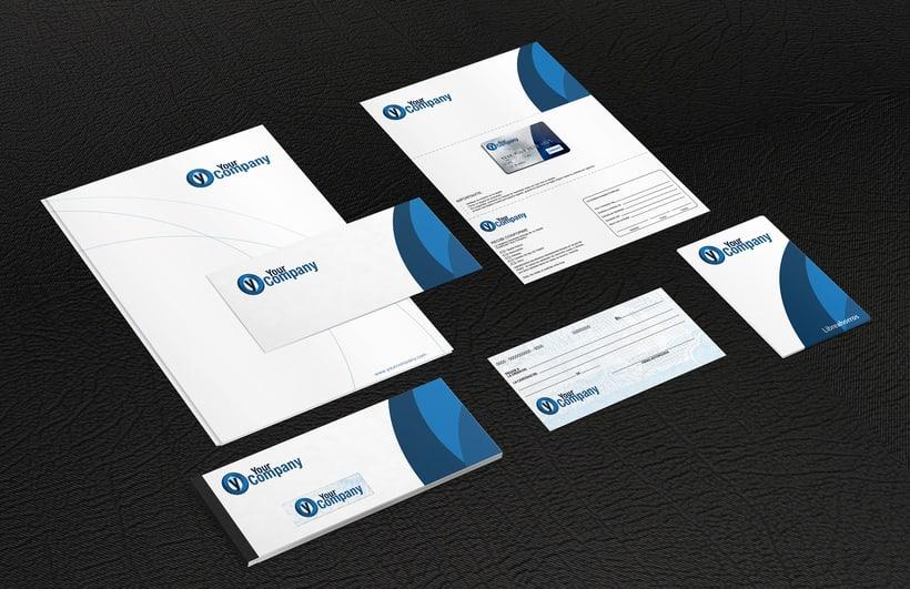 Manual de Identidad - Your Company - Marca para Banca Empresarial 0