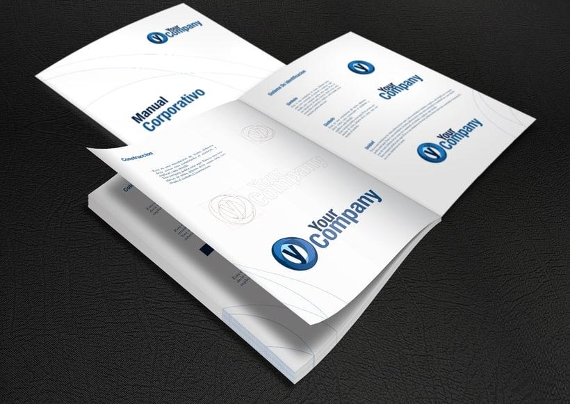Manual de Identidad - Your Company - Marca para Banca Empresarial 6
