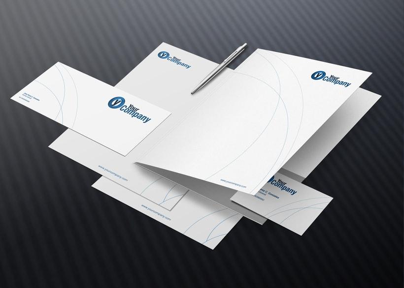 Manual de Identidad - Your Company - Marca para Banca Empresarial 7