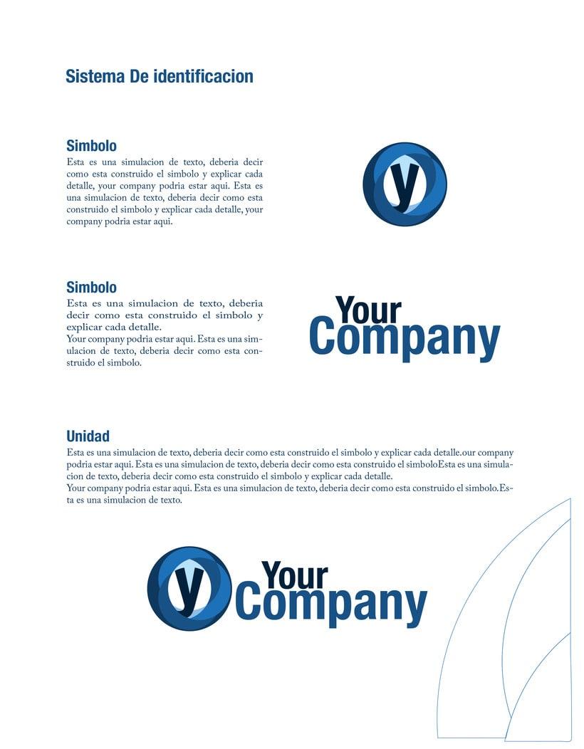 Manual de Identidad - Your Company - Marca para Banca Empresarial 14