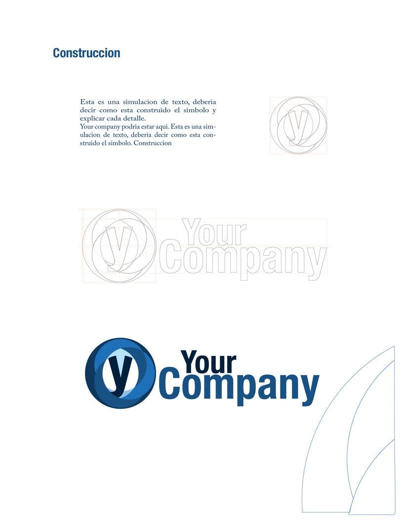 Manual de Identidad - Your Company - Marca para Banca Empresarial 16
