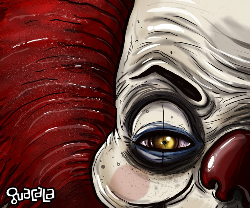 Pennywise el payaso /// FAN ART GUACALA   2