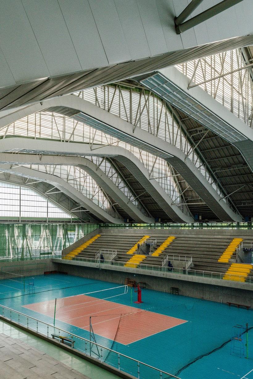 Inmersión en la fotografía de arquitectura: Unidad Deportiva Atanasio Girardot (Medellín) 11