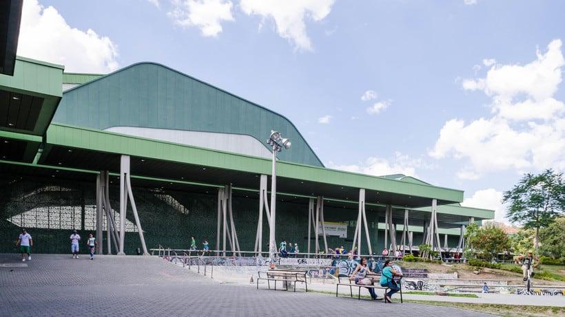 Inmersión en la fotografía de arquitectura: Unidad Deportiva Atanasio Girardot (Medellín) 1