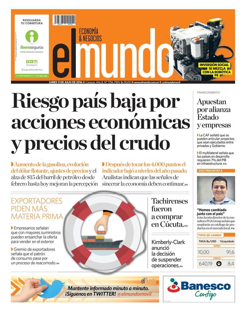 Portadas Mundo: Economía & Negocio 0