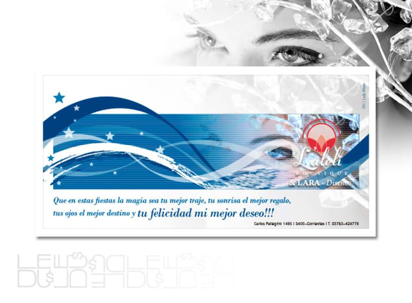 Laleli boutique, diseño imagen corporativa 0