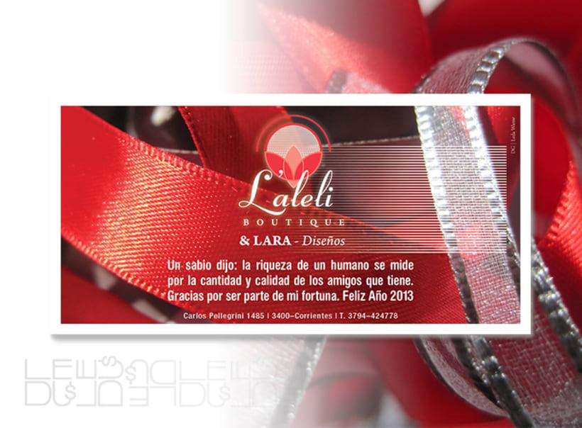 Laleli boutique, diseño imagen corporativa 2
