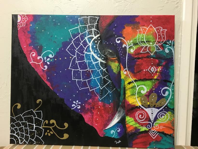 Pinturas, rayas y locura -1
