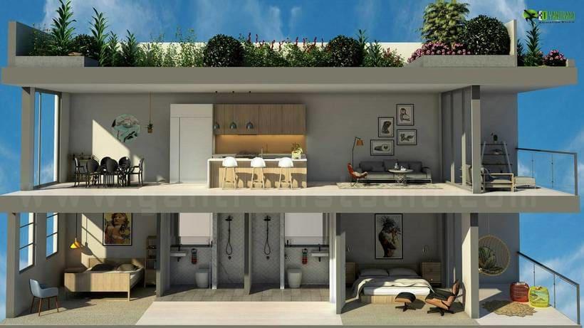 Diseño de planta 3D 6