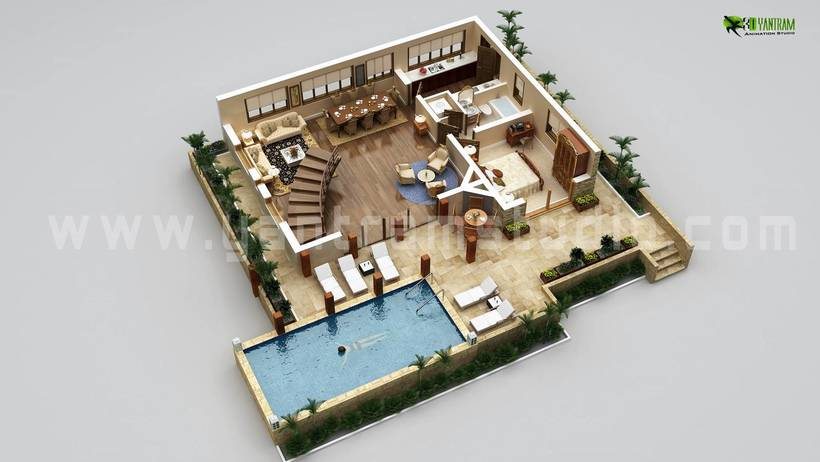 Diseño de planta 3D 7