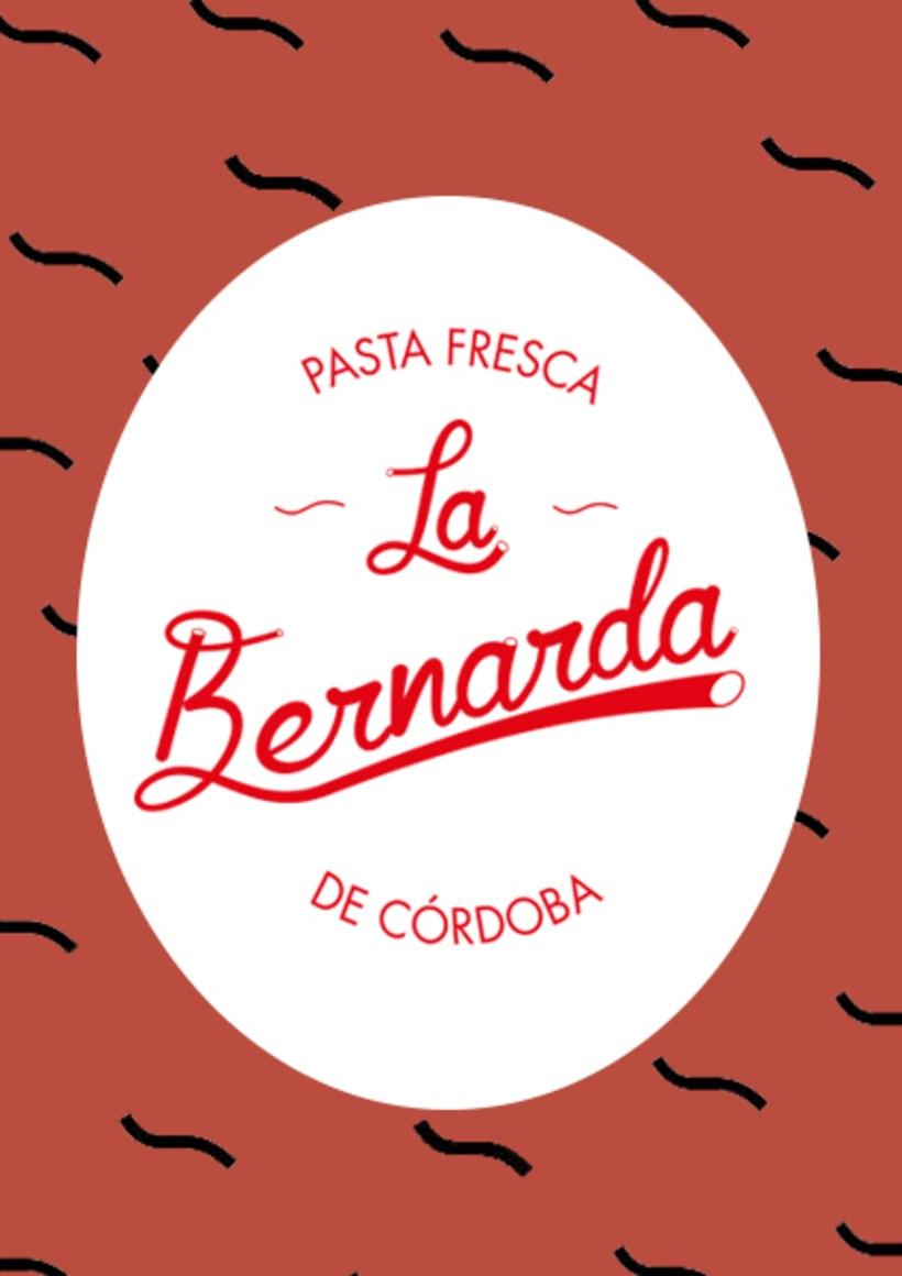 Marca Pasta La Bernarda  1