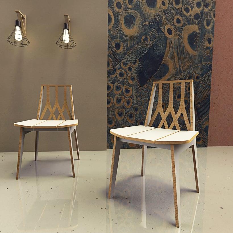 Silla M16/Chair M16 1