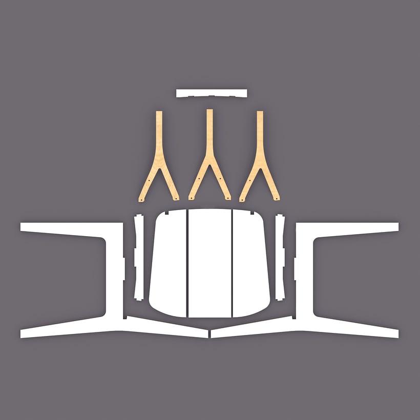 Silla M16/Chair M16 3