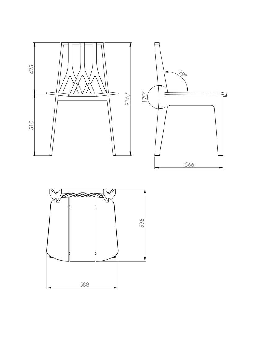 Silla M16/Chair M16 4