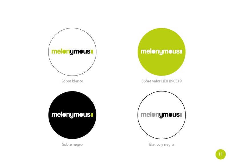 Manual de Identidad - Melonymous 9