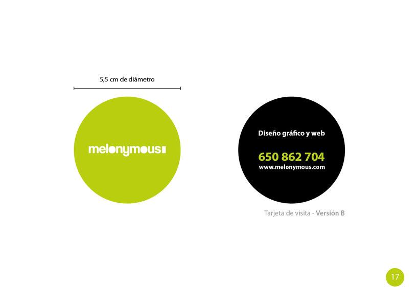 Manual de Identidad - Melonymous 15