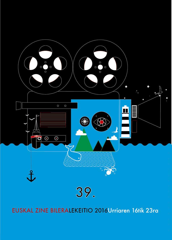 Cartel para la 39 edición de Zine Bilera -1