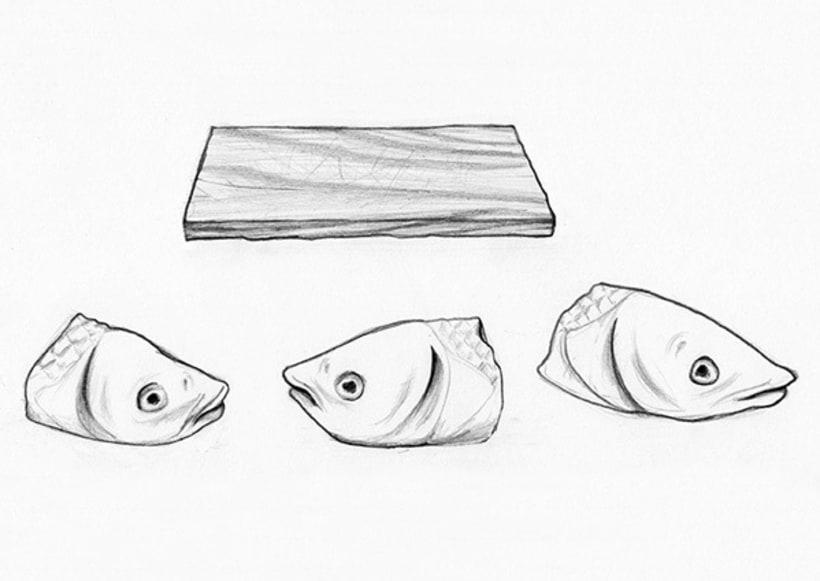Cabezas de pescado 0