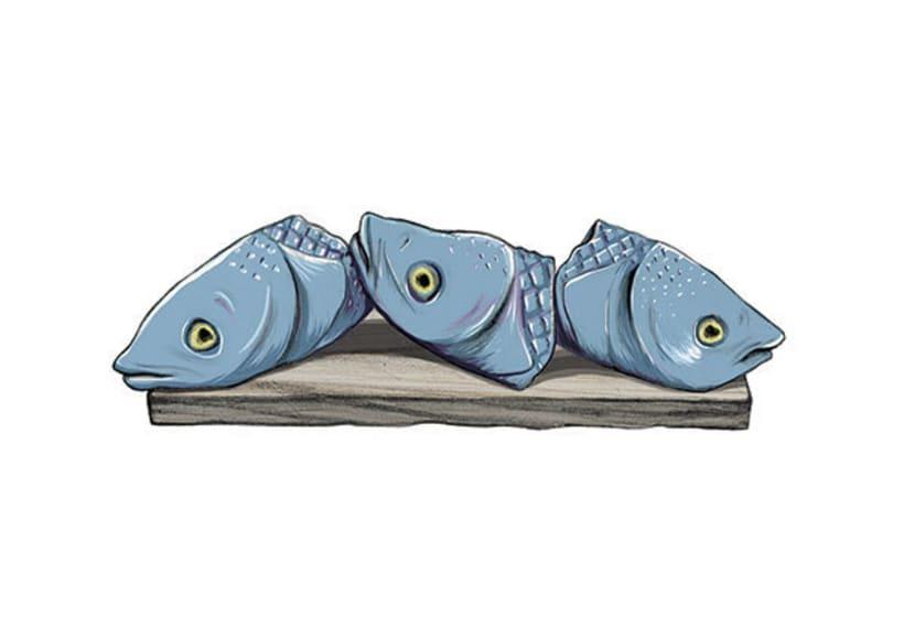 Cabezas de pescado 1