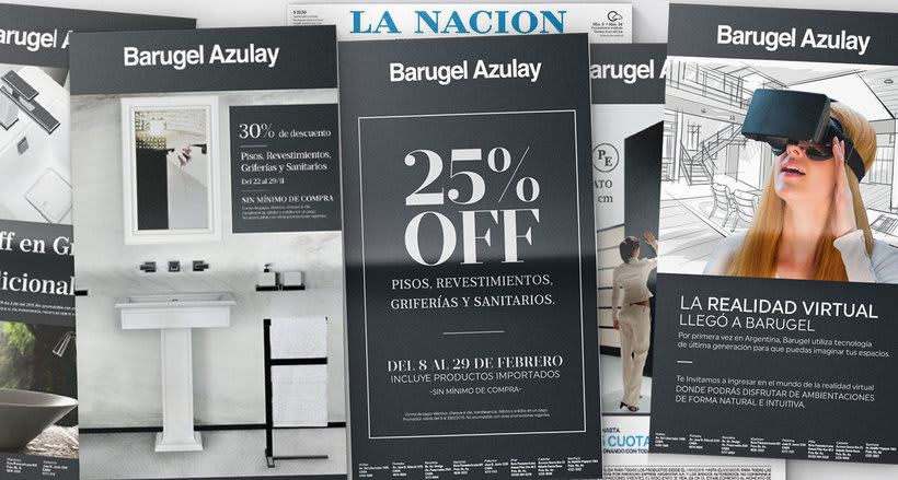 Branding / Identidad Visual: Barugel Azulay. 1